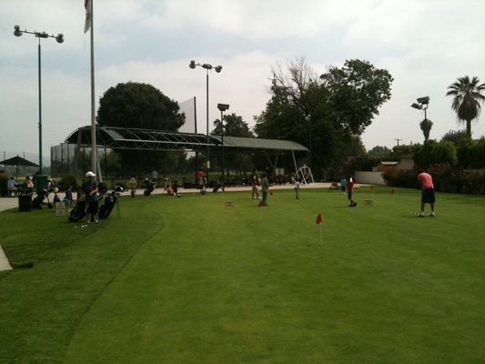 Nike Golf Camps, Arcadia Golf Course