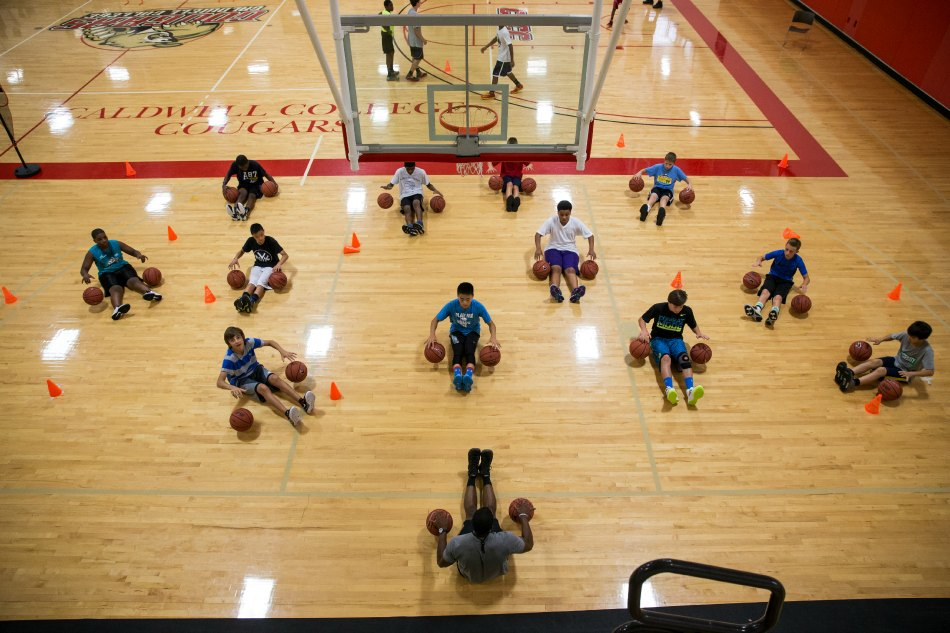 ELS Nike Pro Sports Basketball Camp Caldwell College