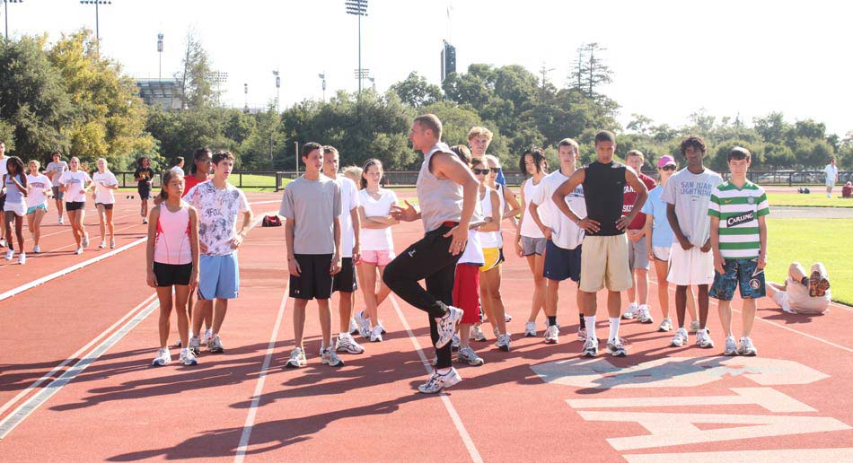 Nike Track Amp Field Camp Of Champions Stanford University