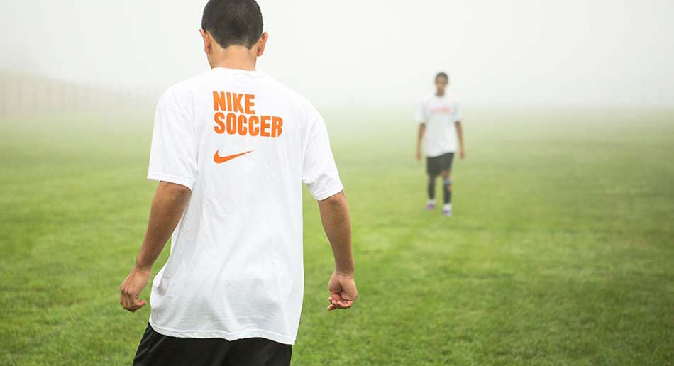ELS Nike Soccer Camp at Curry College