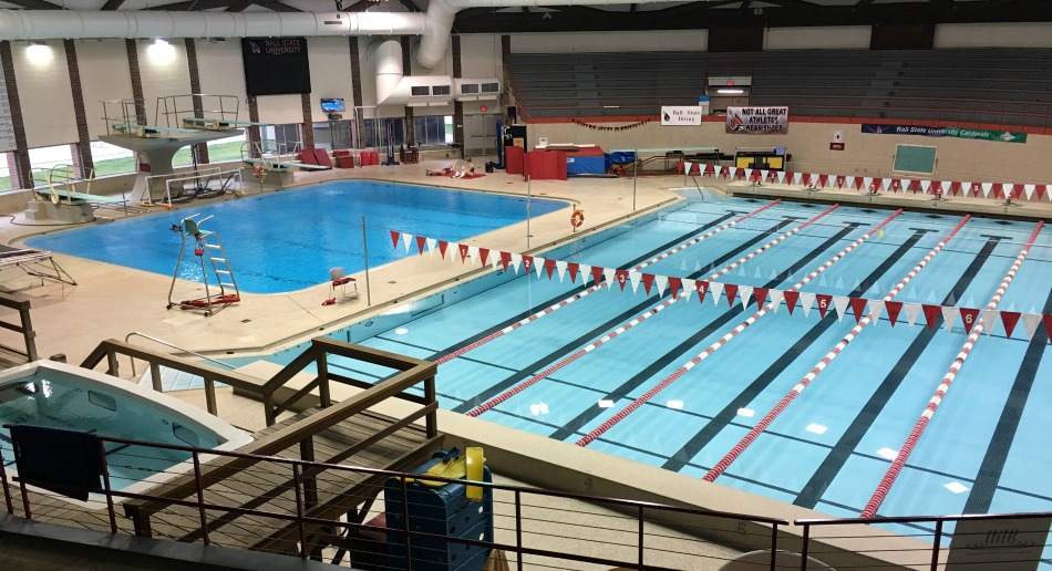 Nike swim camp at ball state university for San diego state university swimming pool