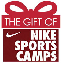Give the gift of a Nike running camp to all youth and high school runners!