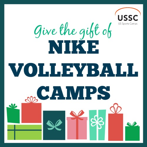 Give the gift of a Nike Volleyball Camp this year.