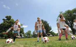 Nike Girls Soccer Camp Goucher College
