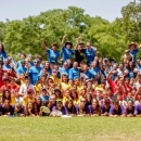 US Sports Camps Donates Nike Hats for Ultimate Peace Campers and Staff