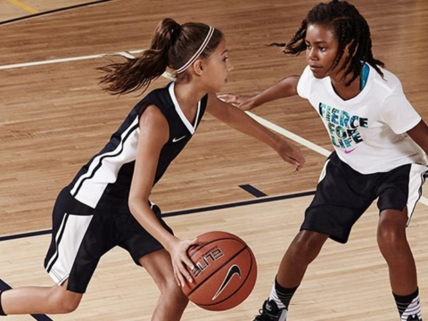 Girls Defending Offensive Player