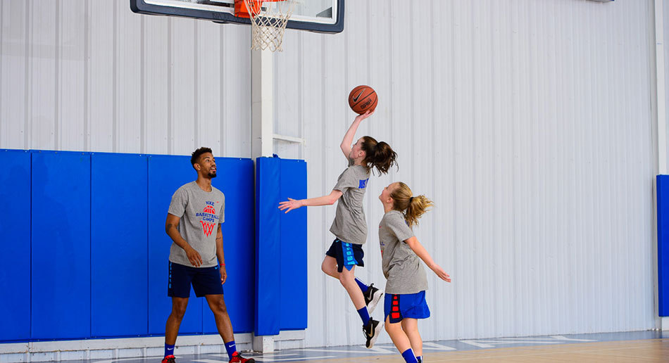 b7acee15cb9 at Nike Basketball Camps. Berry Cage Center Girls Group Girls Sprint Girls  Fast Break Girls Lay Up ...