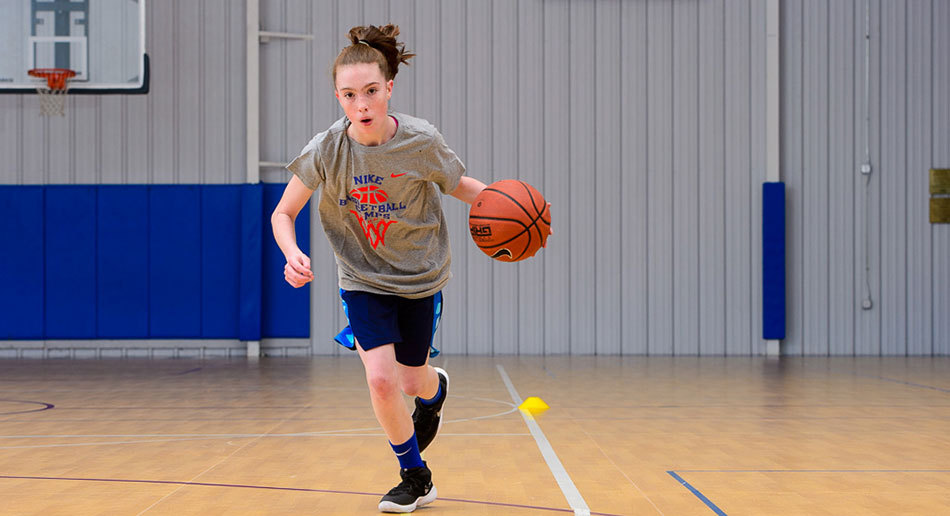 d43531c8248 at Nike Basketball Camps. Berry Cage Center Girls Group Girls Sprint ...
