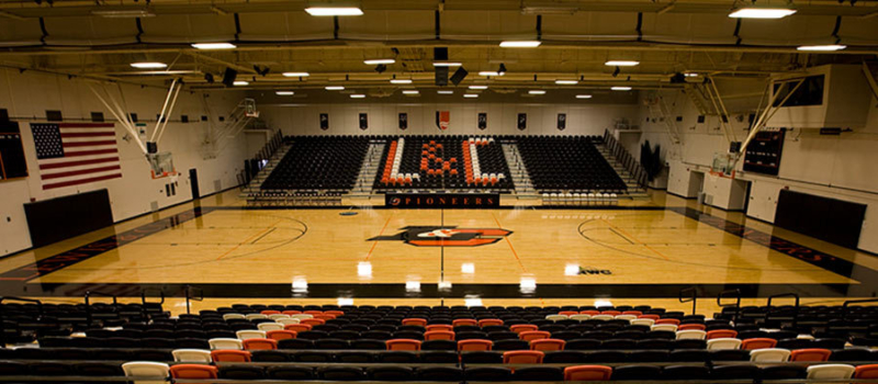 Lewis Clark College Pamplin Sports Center
