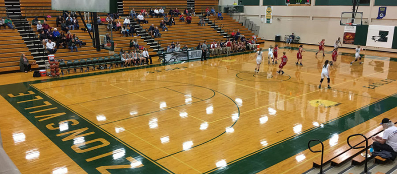 Zionsville Middle School Gym