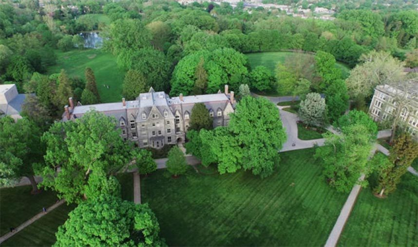 Haverford College Campus