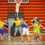 Snow Valley Basketball Camp Iowa Girls Game