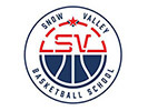 Snow Valley Iowa Basketball Logo