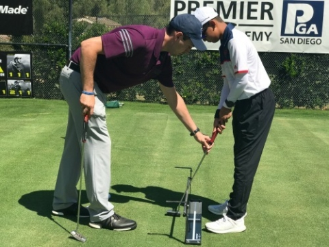 Premier Golf Academy Junior Camps Putting