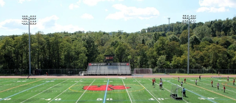 Frostburg State Md Turf Field Facility Goalie School