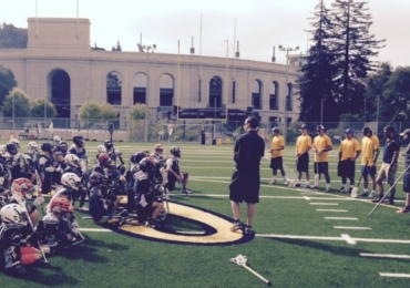 Cal Lacrosse Camp Boys Maxwell Facility