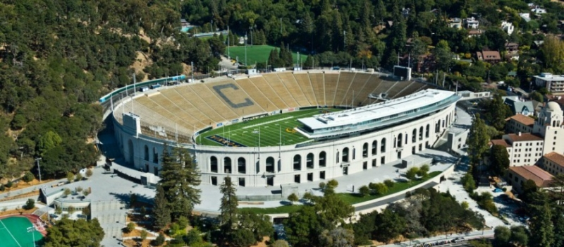 Cal Memorial Stadium Facility Aerial
