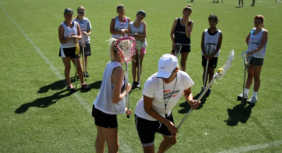 Nike Girls Lacrosse Camp At The Green Vale School