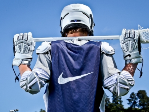 Nike Boys Lacrosse Camp Gallery