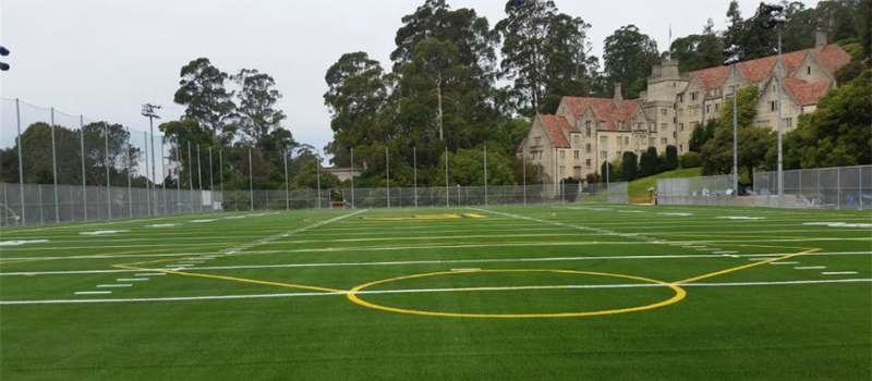 Cal Berkeley Lacrosse Camp Field