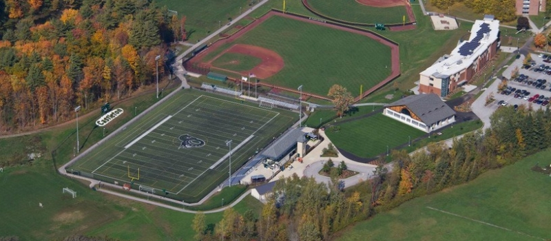 Castleton University Campus Field Facility Nike Lacrosse Camp