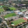 Palo Alto High School Aerial Campus Stanford Nike Boys Lacrosse Camp