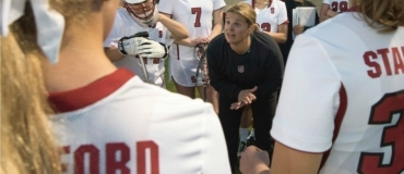 Amy Bokker Stanford Lacrosse Camp Coaching