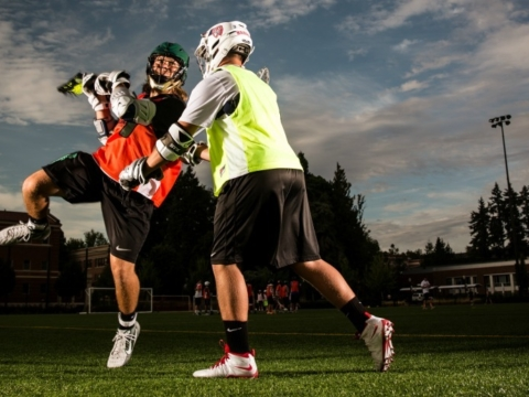 Xcelerate Lacrosse Camp Boys Shot