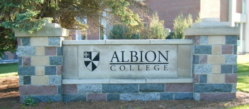 Xcelerate Lacrosse Camp Albion College Sign
