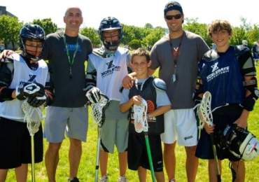 Xcelerate Lacrosse Camp Boys Coach Player Pic