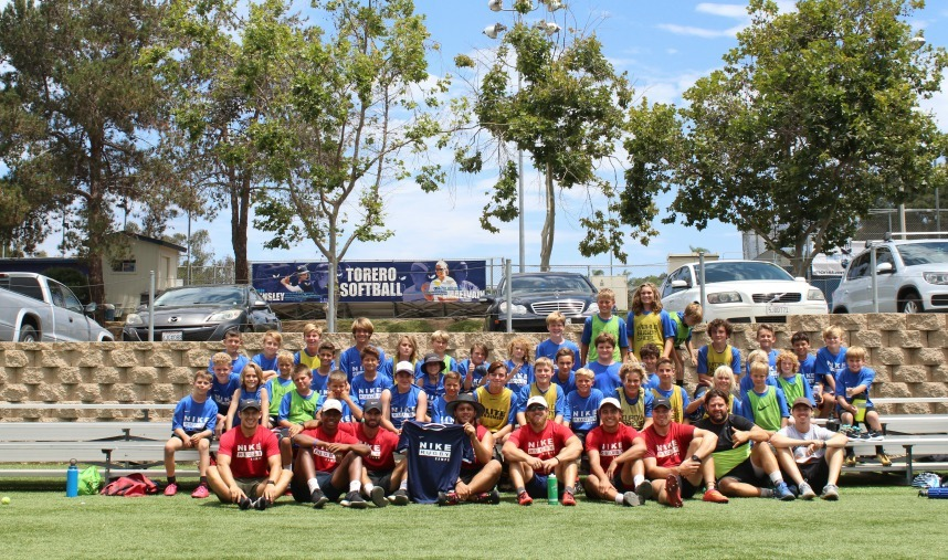 Nike Rugby Camps San Diego Group Pic