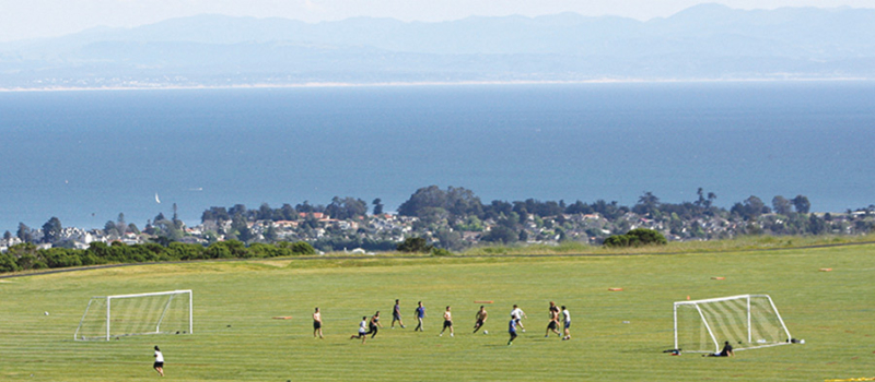 Ucsc Soccer Camps Upper Field