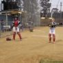 Australia Tour Pitcher Catcher Warmup
