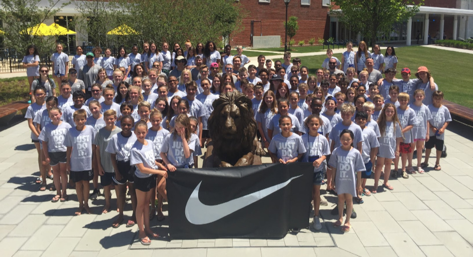 Nike Swim Camp at the College of New Jersey