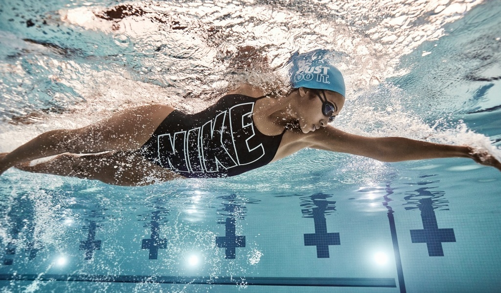 d706072538 Improve your stroke and have serious fun. at Nike Swim Camps