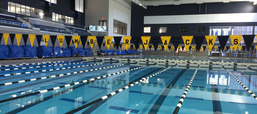 Northern Arizona University Wall Aquatic Center Facility Nike Swim Camp