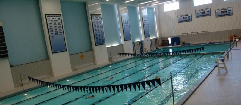 Johns Hopkins University Pool Facility Maryland Nike Swim Camp
