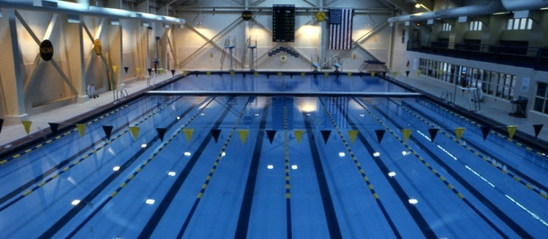 The College Of New Jersey Campus Pool Facility Nike Swim Camp