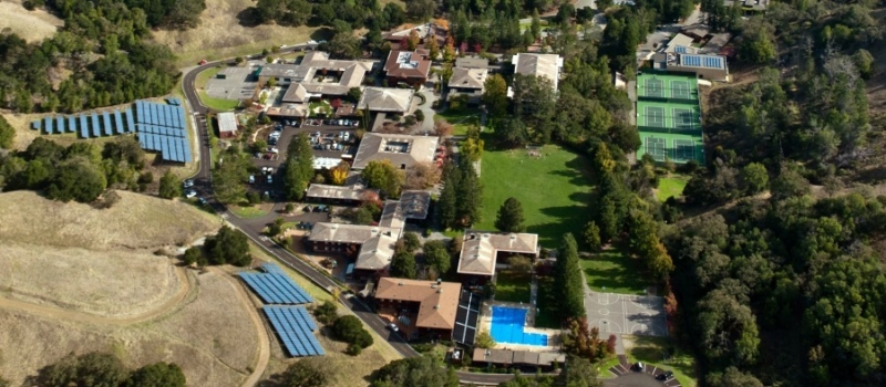 San Domenico Campus Aerial Facility Nike Soccer Camp