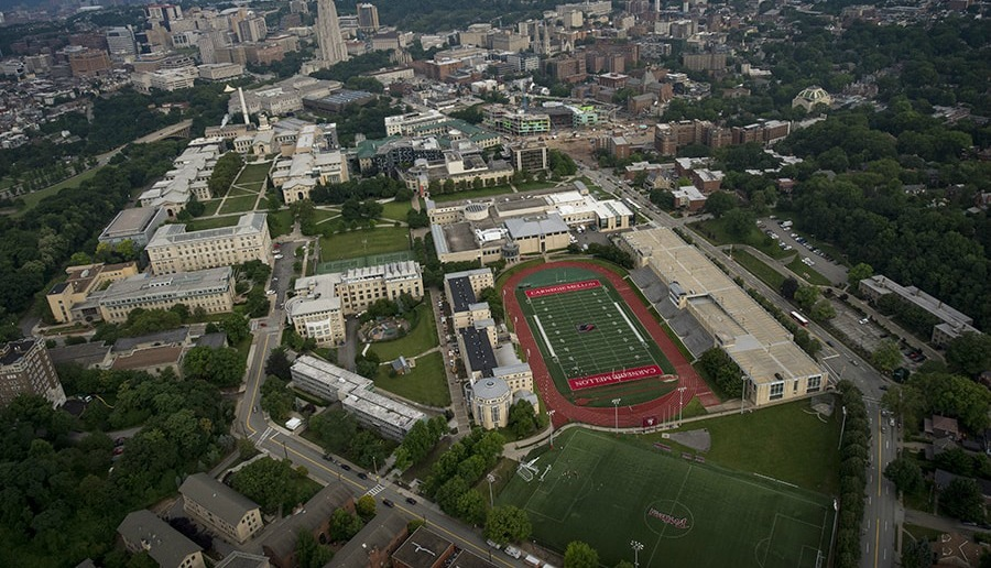 1685dbbebc ... Nike Swim Camp Carnegie Mellon University Campus Overhead ...