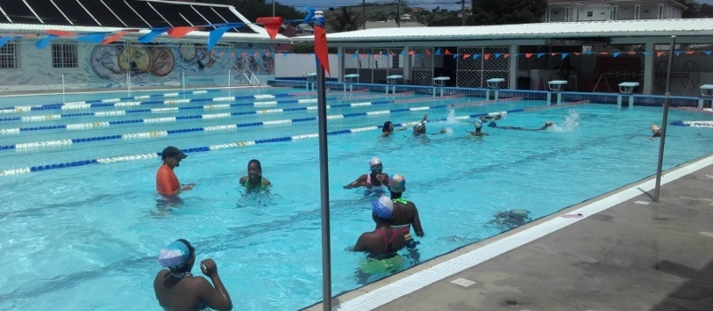 St Lucia Rodney Hrights Aquatic Center Peak Performance Swim Camp