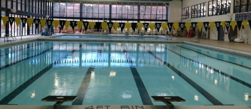 Cu Boulder Pool Facility Nike Peak Perfromance Swim Camp