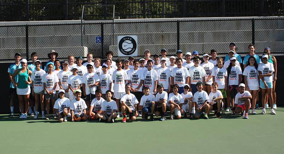 Improve your game and have serious fun at Nike Tennis Camps