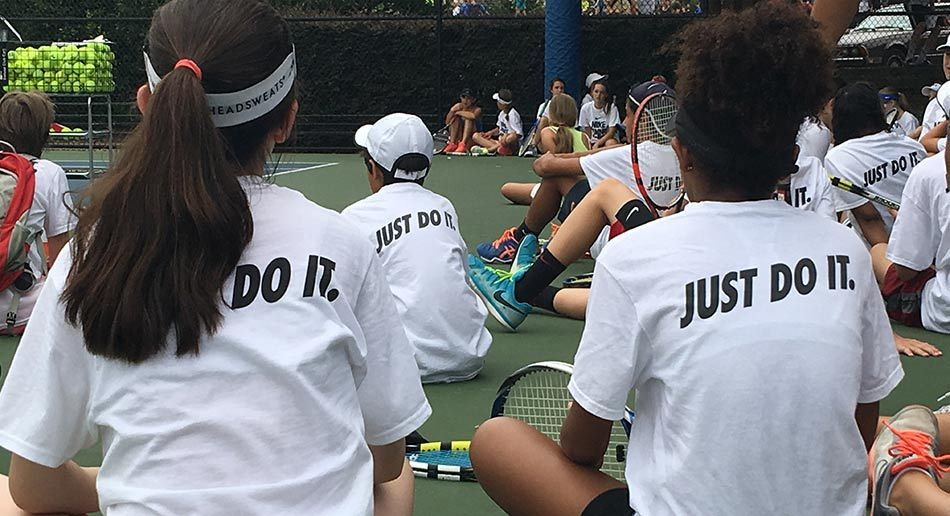4638f147bf9e Improve your game and have serious fun at Nike Tennis Camps
