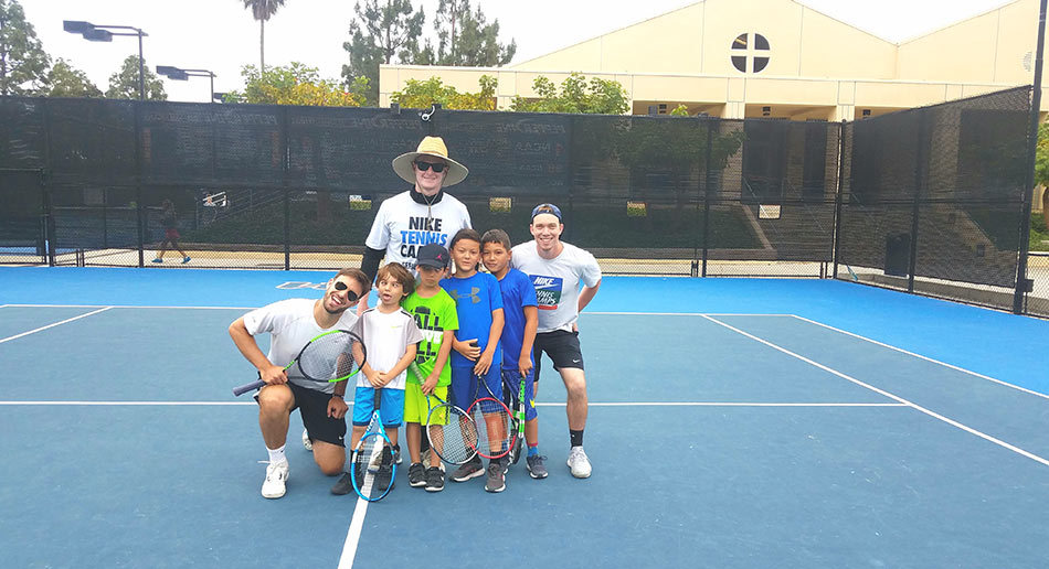 5f7be3d4ed ... Pepperdine Tennis Camp Small Group ...