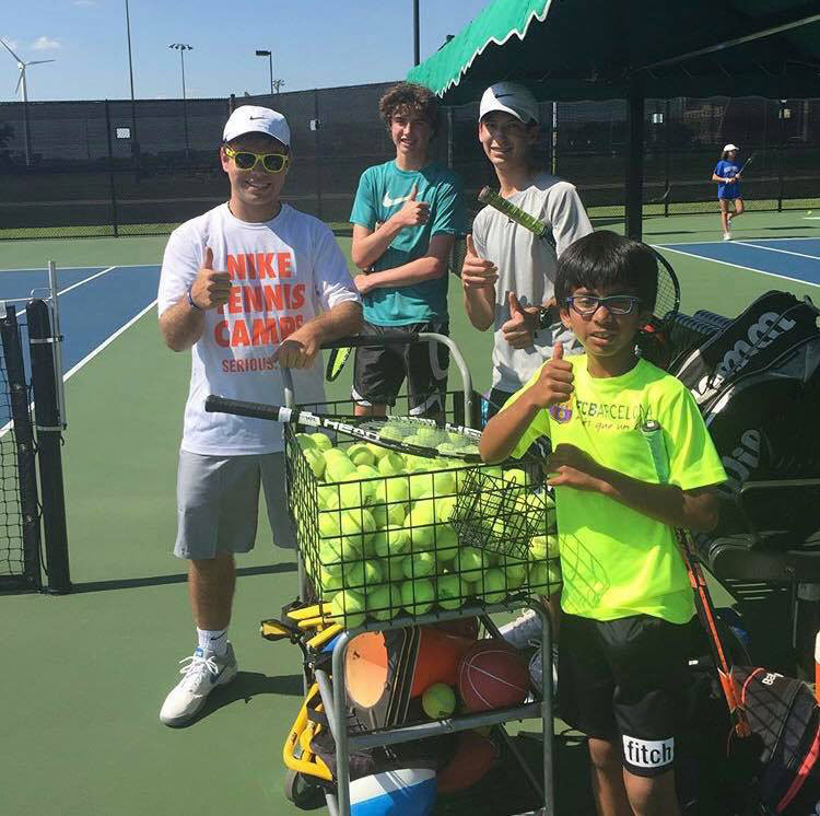 College Coaches Camp: Nike Tennis Camp At University Of North Texas