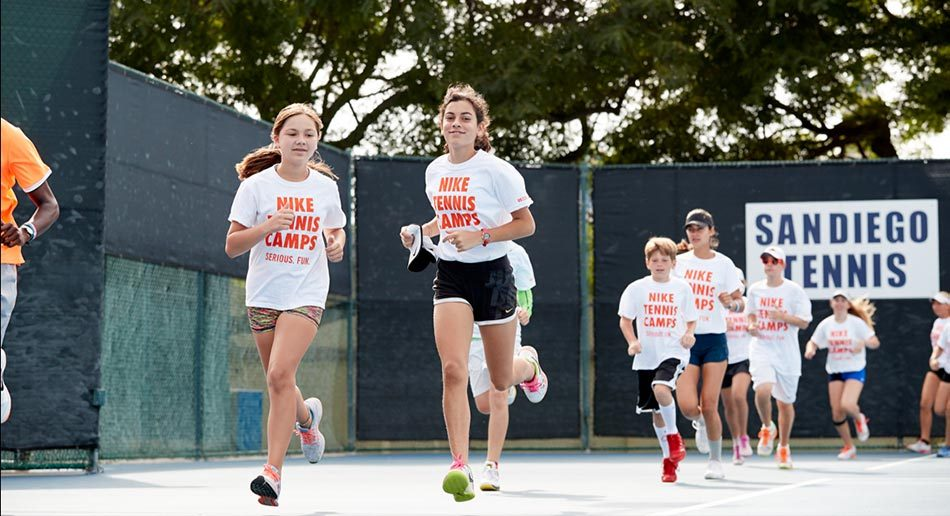 check out 1371b 1a4ae Nike Tennis Camp at University of San Diego