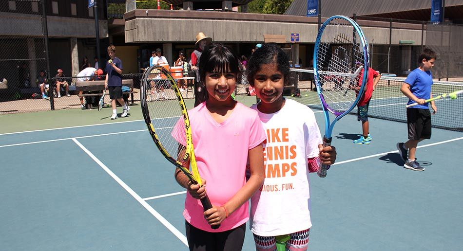 e808fbd3c4 Improve your game and have serious fun at Nike Tennis Camps