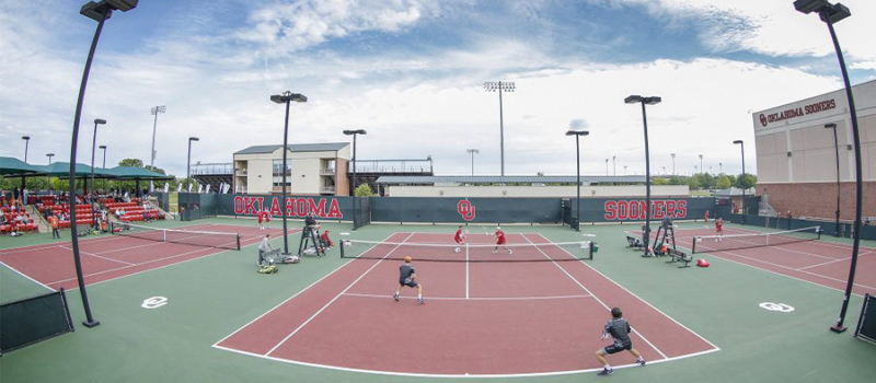 Nike Tennis Camp University Of Oklahoma Courts 1