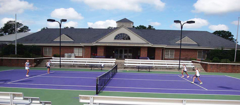 Nike Tennis Camps Furman Courts